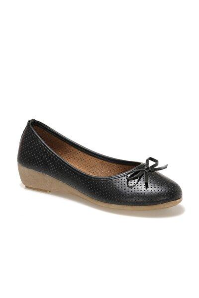 161658.Z1FX Siyah Kadın Comfort Ayakkabı 100984693
