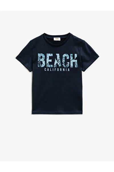 Erkek Çocuk Lacivert Tshirt