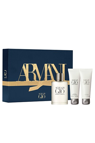 Acqua Di Gio Pour Homme EDP 100 ml Erkek Parfüm Seti  3614273225342