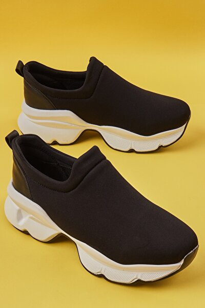 Siyah Kadın Sneaker K01586060717