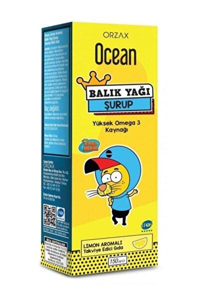 Ocean Omega3 Limon Aromalı Balık Yağı Şurup 150 ml