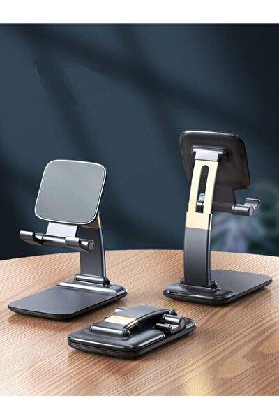 Portatif Ayarlanabilir Katlanır Telefon Ve Tablet Masaüstü Standı Tutucu