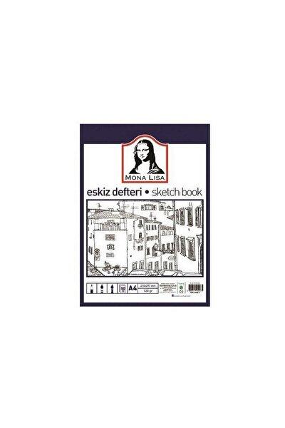 Mona Lisa Eskiz Defteri (Sketch Book) A4 120 gr. 50 Yp.