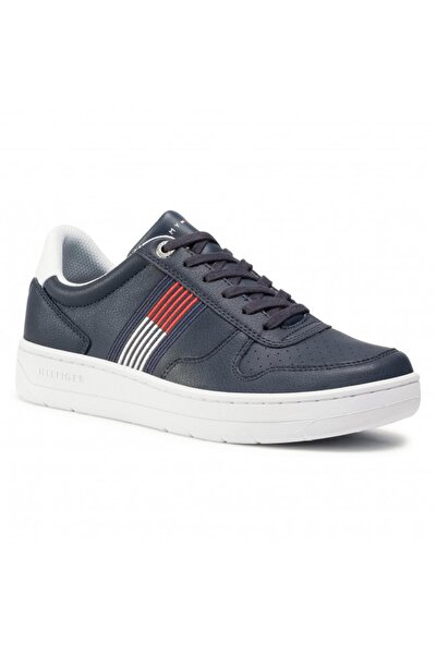 Erkek Th Basket Low Cupsole Sneaker