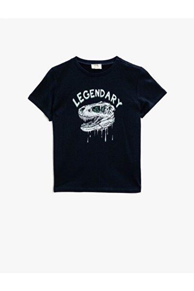 Koton Erkek Çocuk T-shirt Lacivert