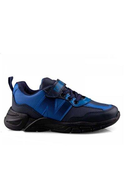 Lacivert Mavi Çocuk Spor Ayakkabı