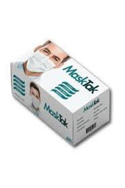 3 Katlı Telli Cerrahi Maske 1 Kutu 50 Adet Kutu Burun Lastikli Kokusuz 8682689649521