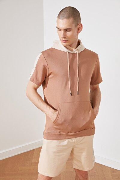 Camel Erkek Regular Fit Sweatshirt TMNSS21SW0309