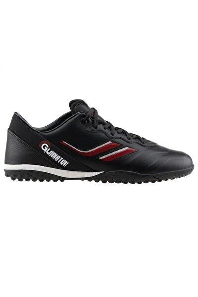 Erkek Futbol Ayakkabısı Siyah Gladiatör 016 H-19b Halısaha