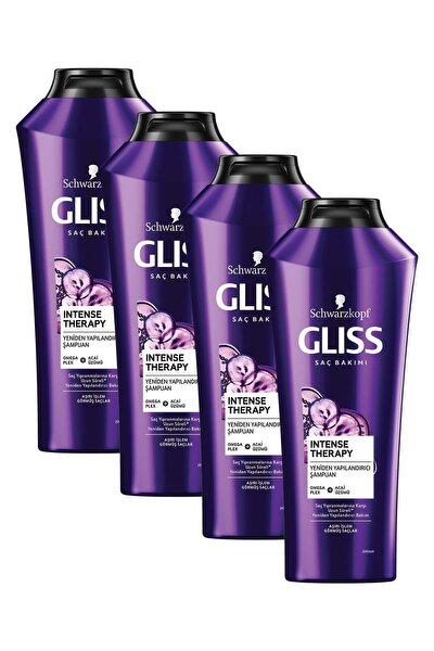 Intense Therapy Yeniden Yapılandırıcı Şampuan 360 ml 4'lü