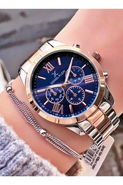 Kadın Gümüş Renk Kol Saati ve Bileklik