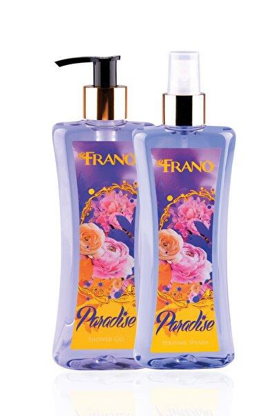 Paradise Vücut Parfümü Ve Duş Jeli Seti