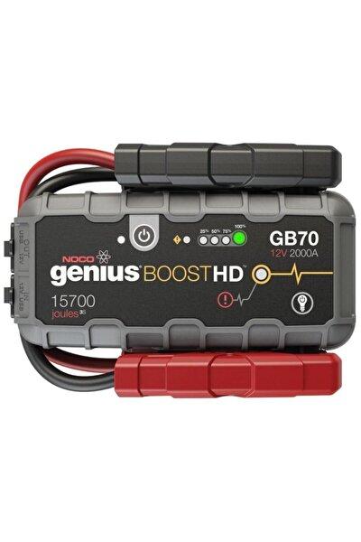 Genius Gb70 12v 2000amp Ultrasafe Lityum Akü Takviye Powerbank Led Lamba
