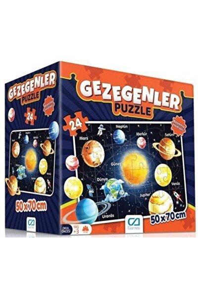 Gezegenler Eğitici Puzzle