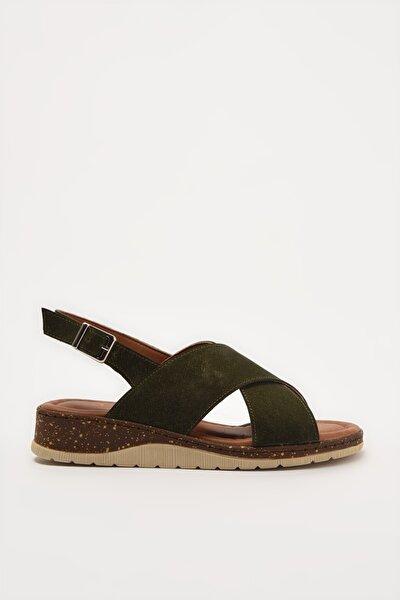 Haki Kadın Sandalet 01SAY212710A880