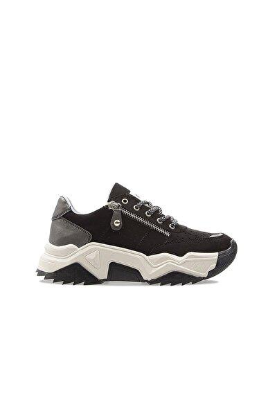 Kadın Siyah Spor Ayakkabı Pc-30698