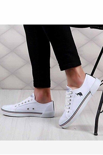 Erkek Beyaz Günlük Spor Ayakkabı 101006272