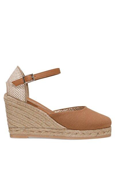 ARTEMISIA 1FX Taba Kadın Dolgu Topuklu Sandalet 101029965