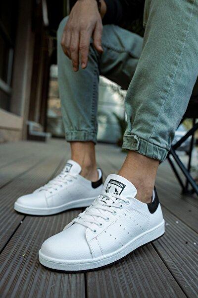 Ch977 Garni Bt Erkek Ayakkabı Beyaz / Siyah