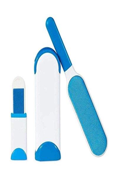 Tüy Toz Temizleyici Fırça Seti 2'li Mavi