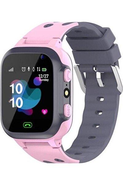 Q500s/2021 Akıllı Çocuk Takip Saati Pembe Dalmaçyalı
