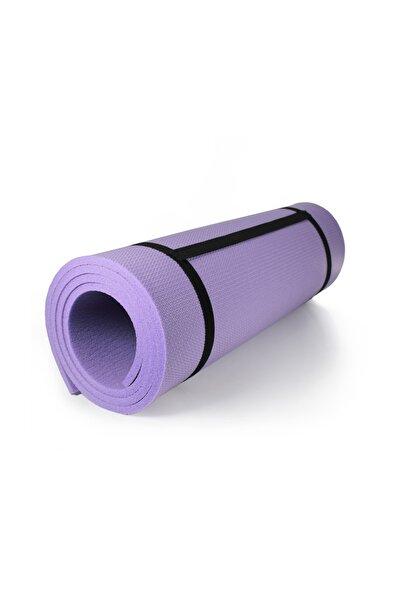 10 Mm Pilates Matı Yoga Matı Kamp Matı Mor Boy 180 Cm En 61 Cm Kalınlık