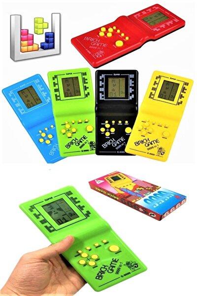 El Atarisi Tetris Oyun Konsolu Nostaljik Oyuncak Brick Game 9999 Oyunlu