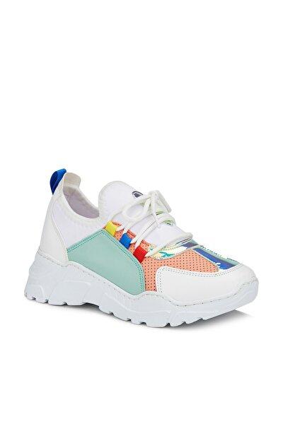 Ruba Kız Genç Beyaz/yeşil Sneaker