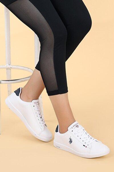 U.s Polo Assn. Franco Beyaz Unisex Sneaker