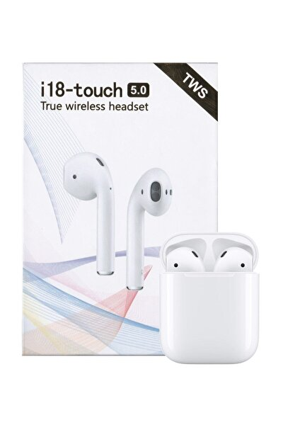 Airpods I18-touch Bluetooth Kulaklık Apple Iphone Android Uyumlu Ultra Hd Ses Kalitesi