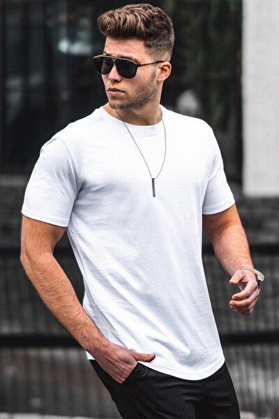 Beyaz Erkek Tişört 4951
