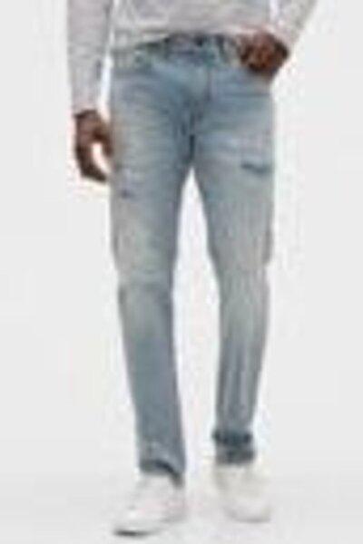 Destructed Slim Jean Pantolon