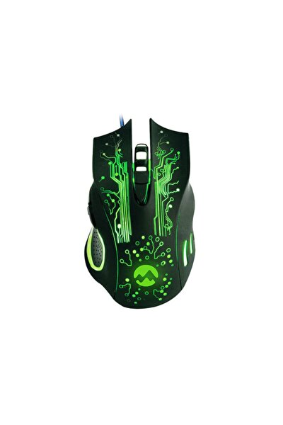 Sm-790 Swanky Siyah 3200 Dpı Gaming Oyuncu Mouse