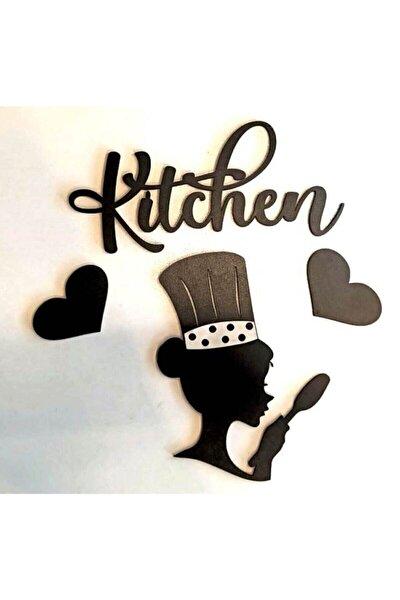 Aşçı Kadın Mutfak Dekoru Kitchen