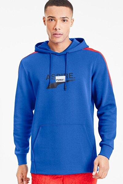 Erkek Avenir Hoody Palace Blue Kapüşonlu Sweatshirt