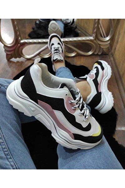 Kadın Siyah Spor Ayakkabı Zenne 73