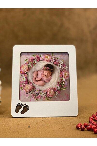 Beyaz Bebek Çerçevesi