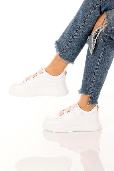 Kadın Günlük Şık Ve Rahat Lastik Bantlı Spor Ayakkabı Sneaker Soby11020034