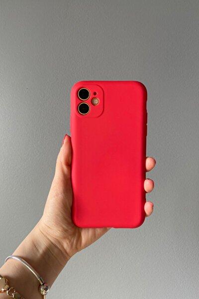 Iphone 11 Içi Süet Dokulu Lansman Kılıf D. Accessory