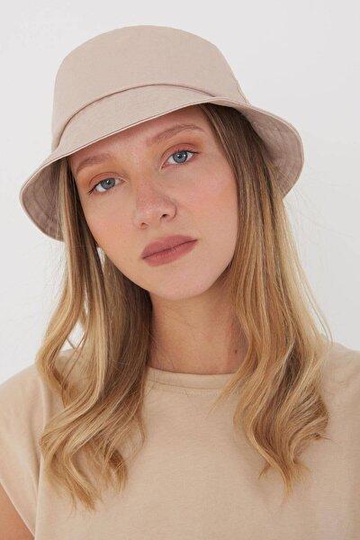 Kadın Bej Şapka