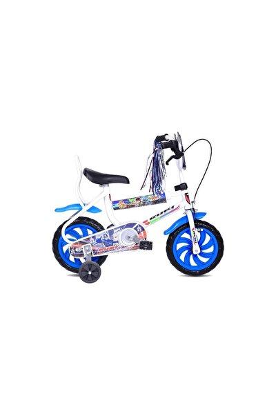 Falcon Rubi 12 Jant Çocuk Bisikleti - Beyaz Mavi