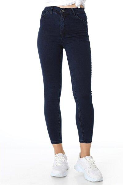 Beş Cep Klasik Pantolon - Lacivert