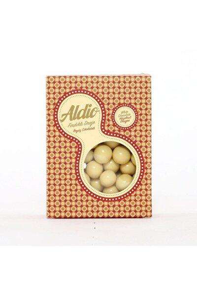 Aldio Beyaz Çikolatalı Fındıklı Draje 200g Kutu