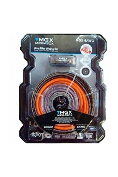 Mgx-8ga Bakır Kalitesi Oto Tesisat Kablosu Seti