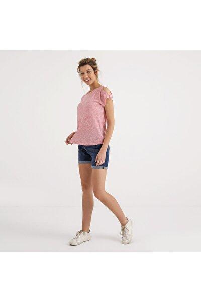 Kadın T-shirt Pembe