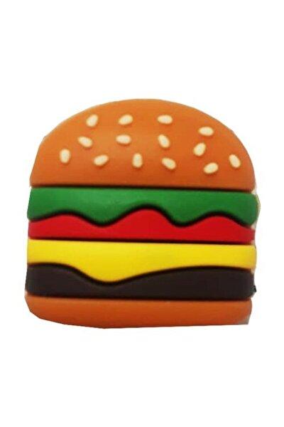 Sevimli Hamburger Figürlü Usb Kablo Koruyucu