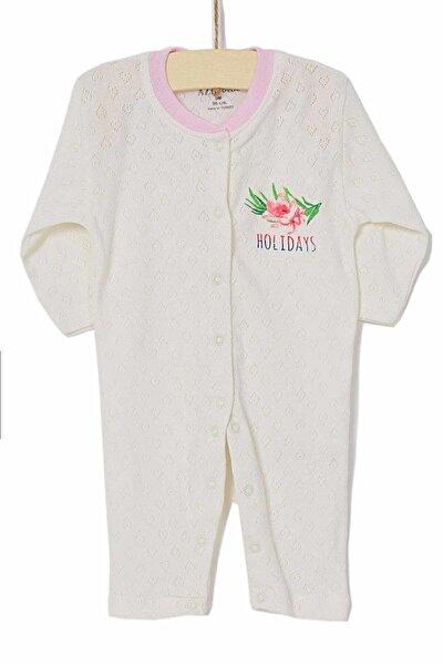 Kız Bebek Tulum 0-6 Ay 6546