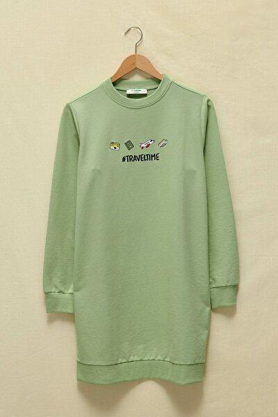 Kadın Yeşil Tunik