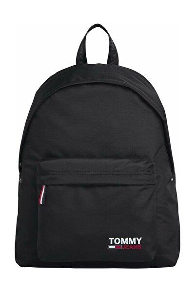 Erkek Siyah Sırt Çantası Tjm Campus Boy Backpack AM0AM06430