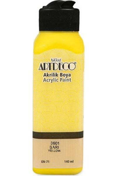 Sarı Akrilik Boya 140 ml